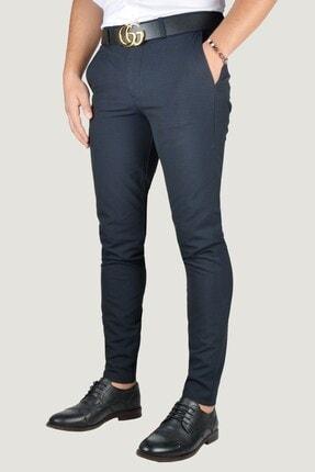 Terapi Men Erkek Lacivert Keten Pantolon 9Y-2200196-008 1