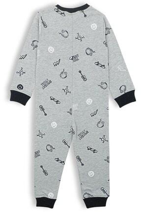 B&C'ousin Erkek Çocuk Penye Gri Kaykaylı Uyku Tulumu 2