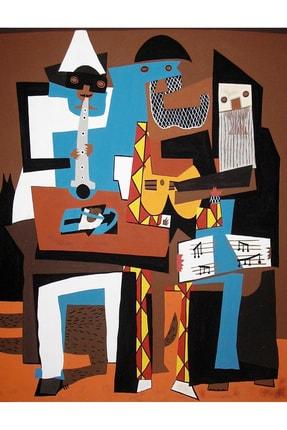 Vona Vintage Pablo Picasso Three Musicians Poster 1