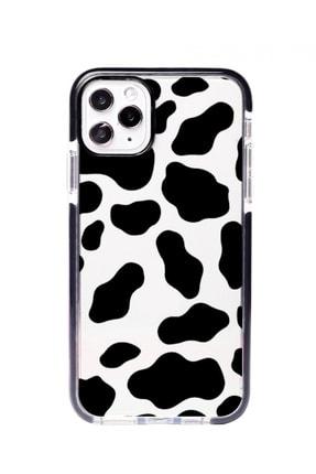 POFHİ Iphone Xs Max Inek Desenli Impact Telefon Kılıfı 0