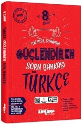 Ankara Yayınları Ankara 8. Sınıf Güçlendiren Soru Bankası Türkçe 0