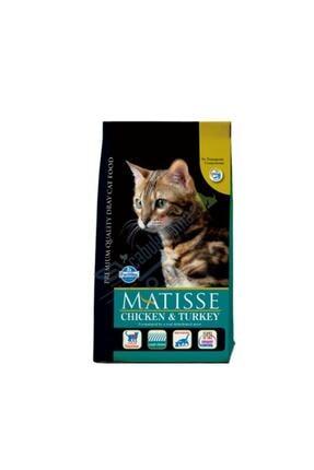 Matisse Tavuklu Hindili Kedi Maması - 10 Kg 0