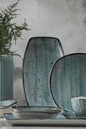 Kütahya Porselen Corendon Mavi 30 Parça Kahvaltı Takımı 1