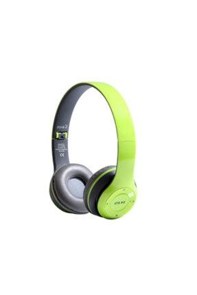 Zore Kulak Üstü Fm Radyolu Led Işıklı Bluetooth Kulaklık Btk-zr56 0