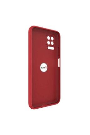 Dijimedia Huawei P40 Lite Kılıf El Izi Yapmayan Yüzüklü Mat Plex Silikon 3