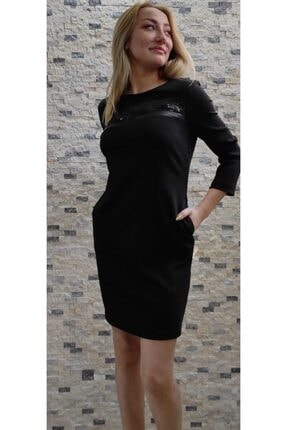 Siyah Pullu Elbise Siyah pullu elbise