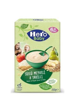 Hero Baby Ek Besin Mama Süt Meyve Tahil 200 gr 0