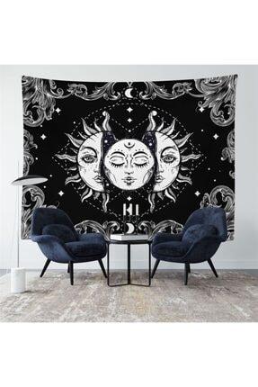 Trendiz Sun Siyah Duvar Halısı W20014 0