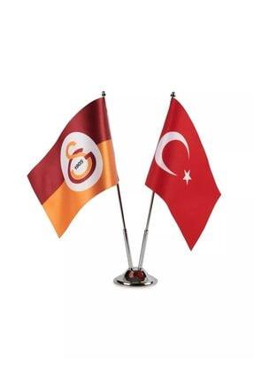 Galatasaray Lisanslı Masa Bayrak 0