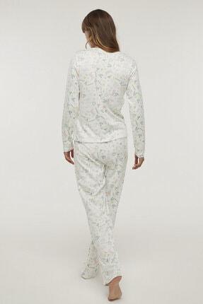 Penti Çok Renkli Gardener Termal Pijama Takımı 4