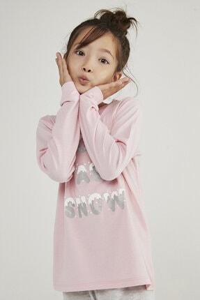 Penti Çok Renkli Kız Çocuk Hot Tech Snow 2li Pijama Takımı 1