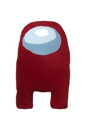 OSHABA Among Us Peluş Yastık Oyuncak Kırmızı 2