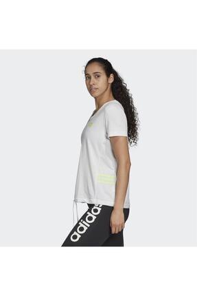 adidas Kadın Beyaz Tişört Gd4632 1