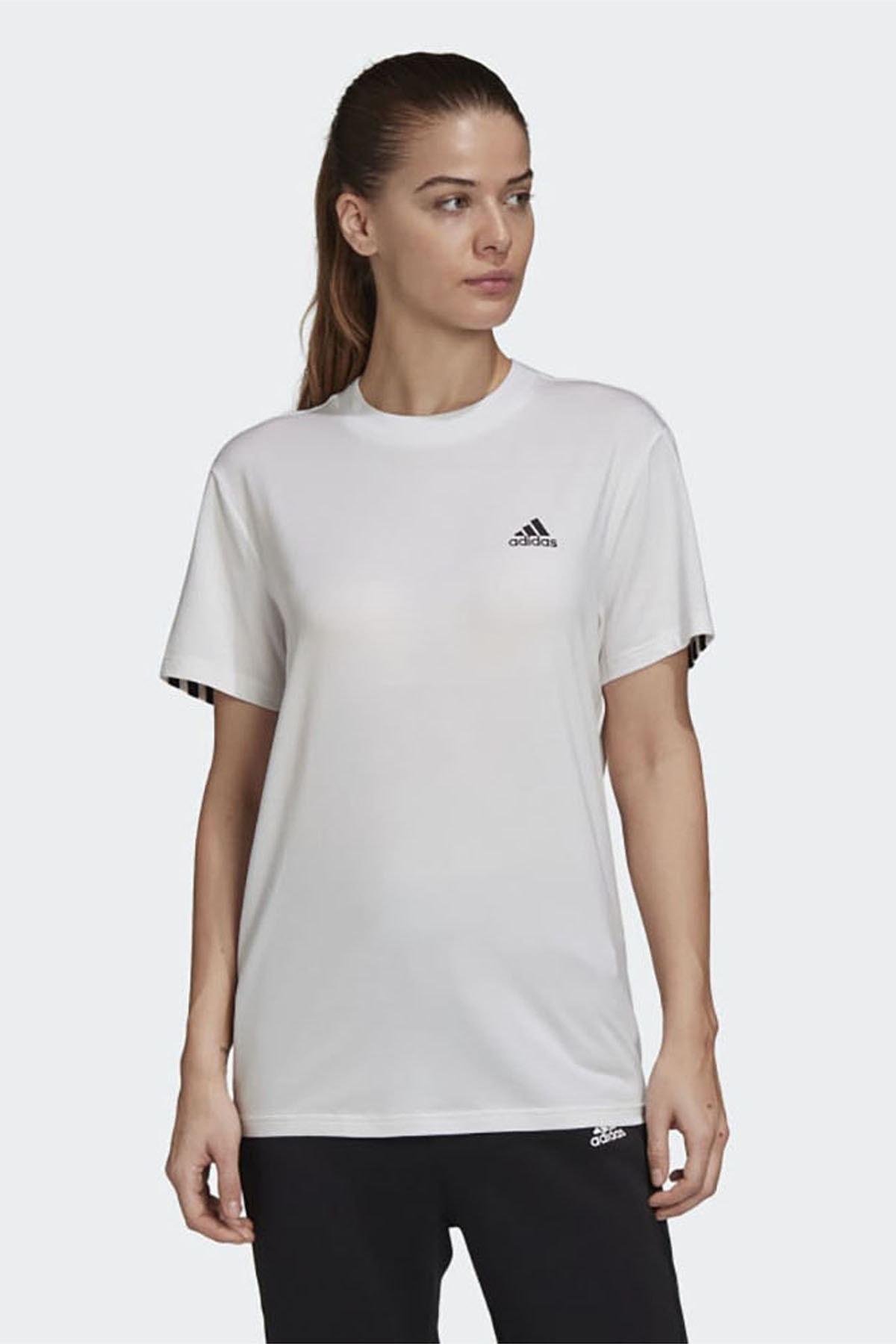 adidas Kadın Günlük Giyim T-shirt W Mh 3s Ss Tee Gh3799