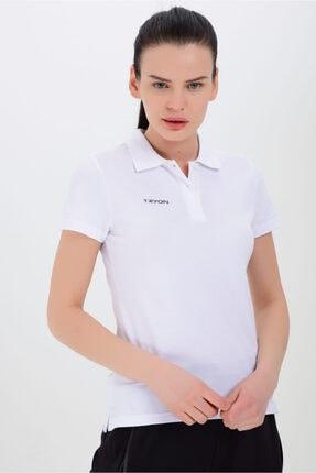 TRYON Kadın Pamuklu Polo T-shirt Verona 0