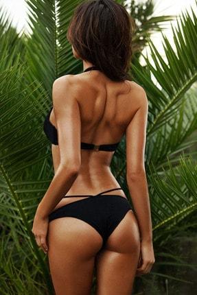 Angelsin Kadın Siyah Bikini Alt 1