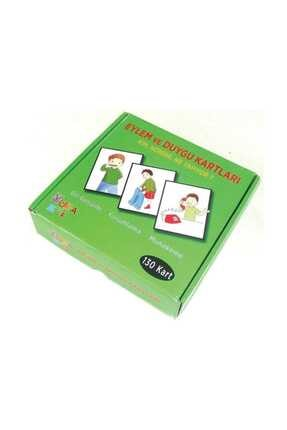 Yuka Kids Eylem Ve Duygu Kartları 130 Kartlı 0