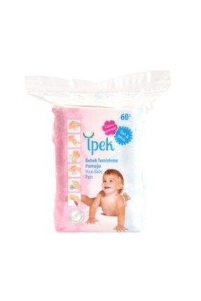 İpek Bebek Temizlik Pamuğu 60 'lı 0