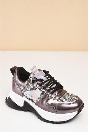 Pierre Cardin PC-30266 Platin Kadın Spor Ayakkabı 1