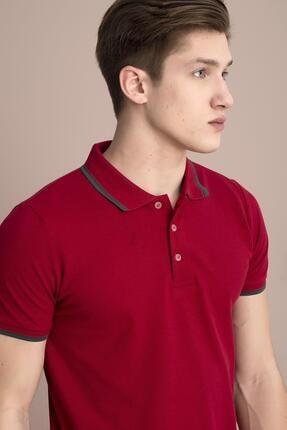 Tena Moda Erkek M.kırmızı Polo Yaka Tişört 3