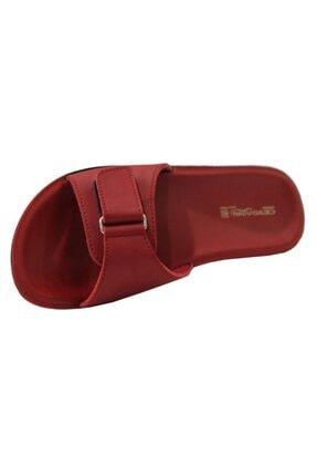 Ceyo Siena-4 Kırmızı Ortapedik Bayan Terlik & Sandalet 3