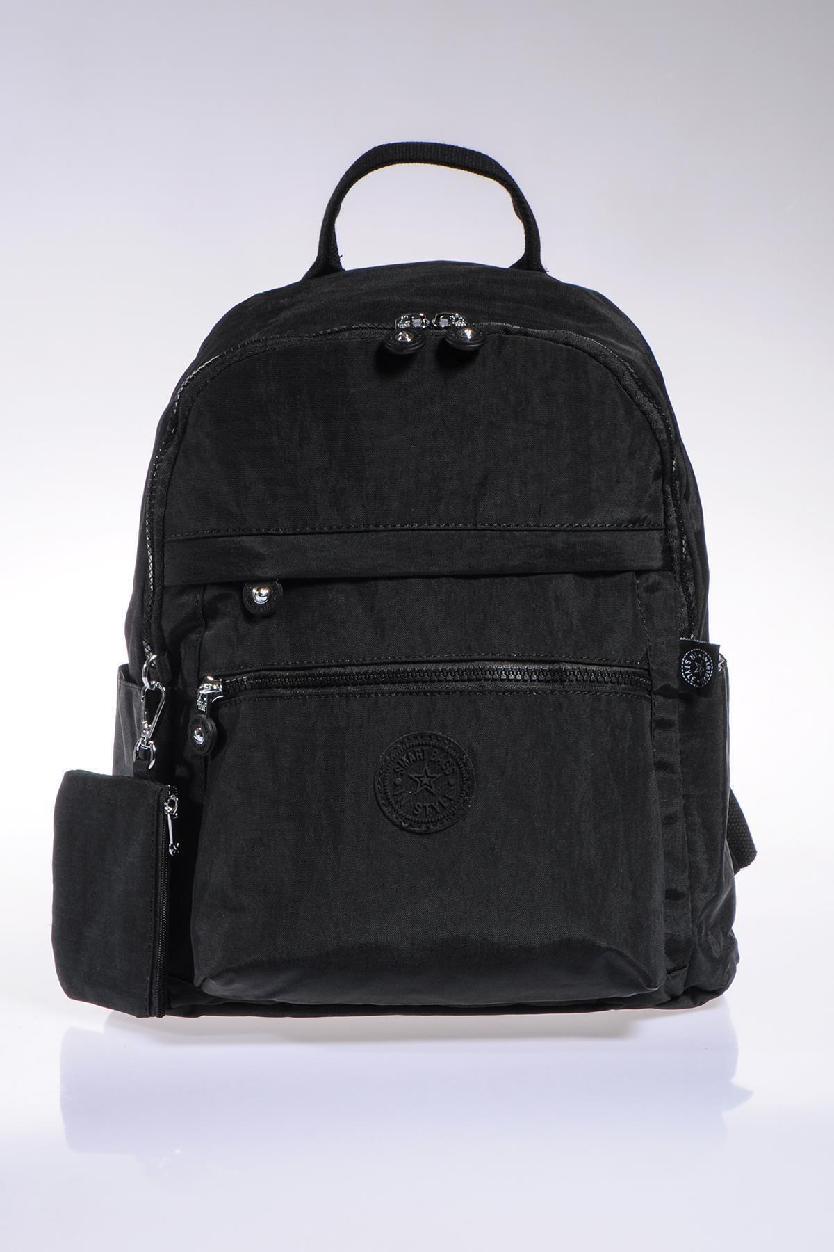 Smb1234-0001 Siyah Kadın Sırt Çantası