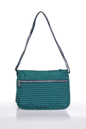 Smart Bags Smb1128-0066 Lacivert/yeşil Kadın Çapraz Çanta 2