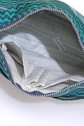 Smart Bags Smb1128-0066 Lacivert/yeşil Kadın Çapraz Çanta 3