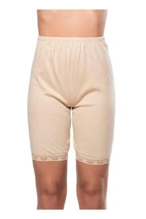 ÖZKAN underwear Özkan 0114 Kadın Ribana Dantelli Paçalı Don 0