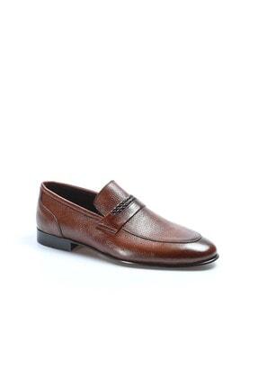 Fast Step Hakiki Deri Kösele Taba Erkek Klasik Ayakkabı 932ma301 2