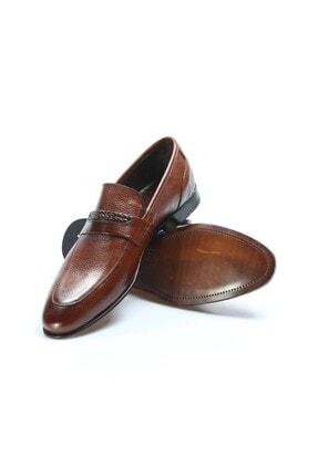 Fast Step Hakiki Deri Kösele Taba Erkek Klasik Ayakkabı 932ma301 3