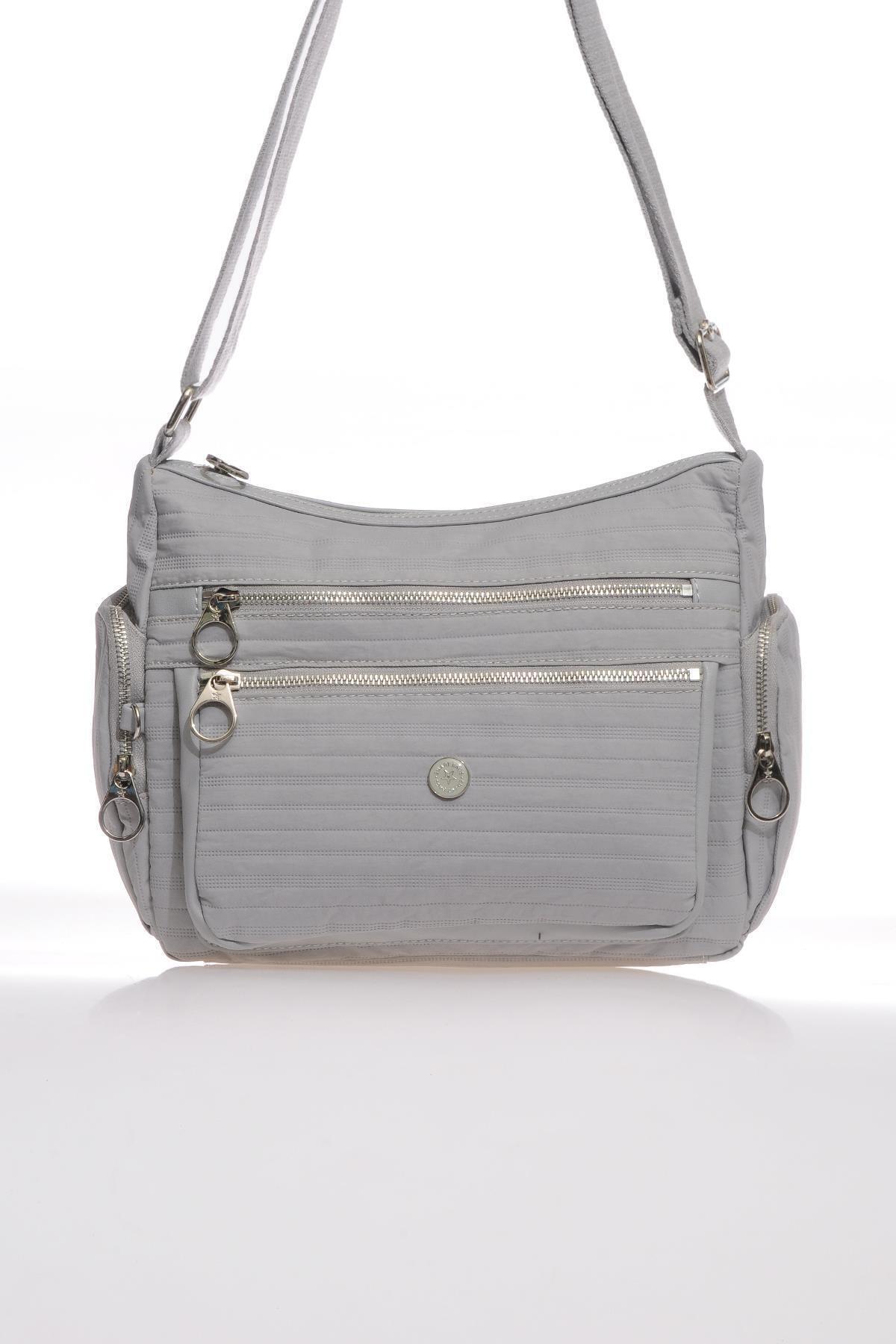 Smart Bags Smb3007-0078 Gri Kadın Çapraz Çanta