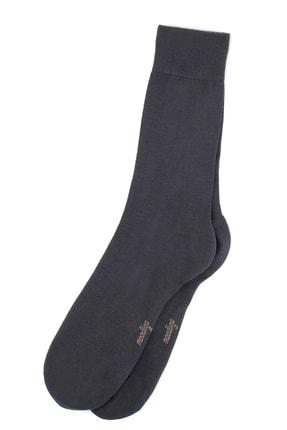 Moodligo Erkek Füme Premium 6lı Bambu Çorap 4