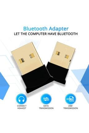 Streak Bluetooth 4.0 Adaptör Dongle Receiver Alıcısı Usb Tak Çalıştır 2