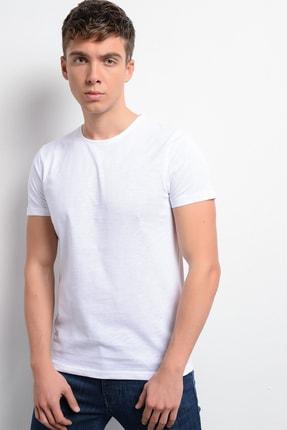 Rodi Jeans Rodi Rd19ye279975 Beyaz Erkek T-shirt Flamlı Süprem Bisiklet.yaka 3