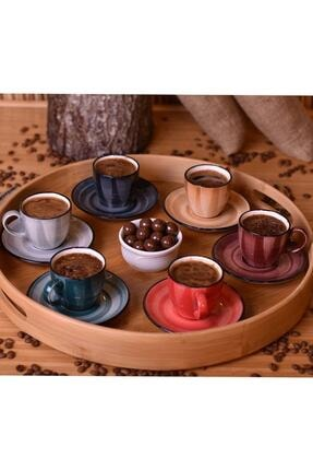Bambum Bella 6 Kişilik Kahve Fincan Takımı 1