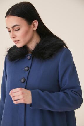 Doque Kadın Mavi Kaban Do-a9-57017-09 3
