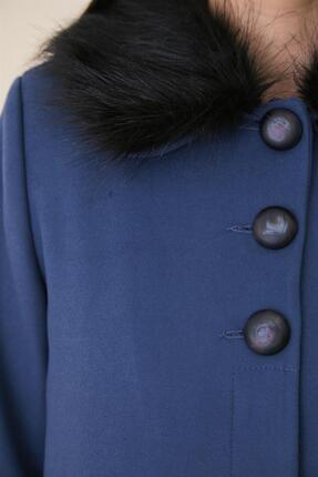 Doque Kadın Mavi Kaban Do-a9-57017-09 4