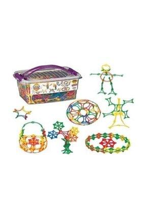 DEDE Kelebek Box Eğitici Şekiller 480 Parça Puzzle 0