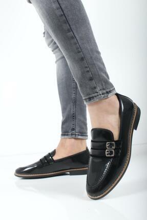 Oksit Bonar Çift Toka Erkek Klasik Ayakkabı 1