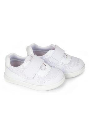 تصویر از Unisex Bebek Beyaz Ortopedik Ilk Adım Ayakkabı