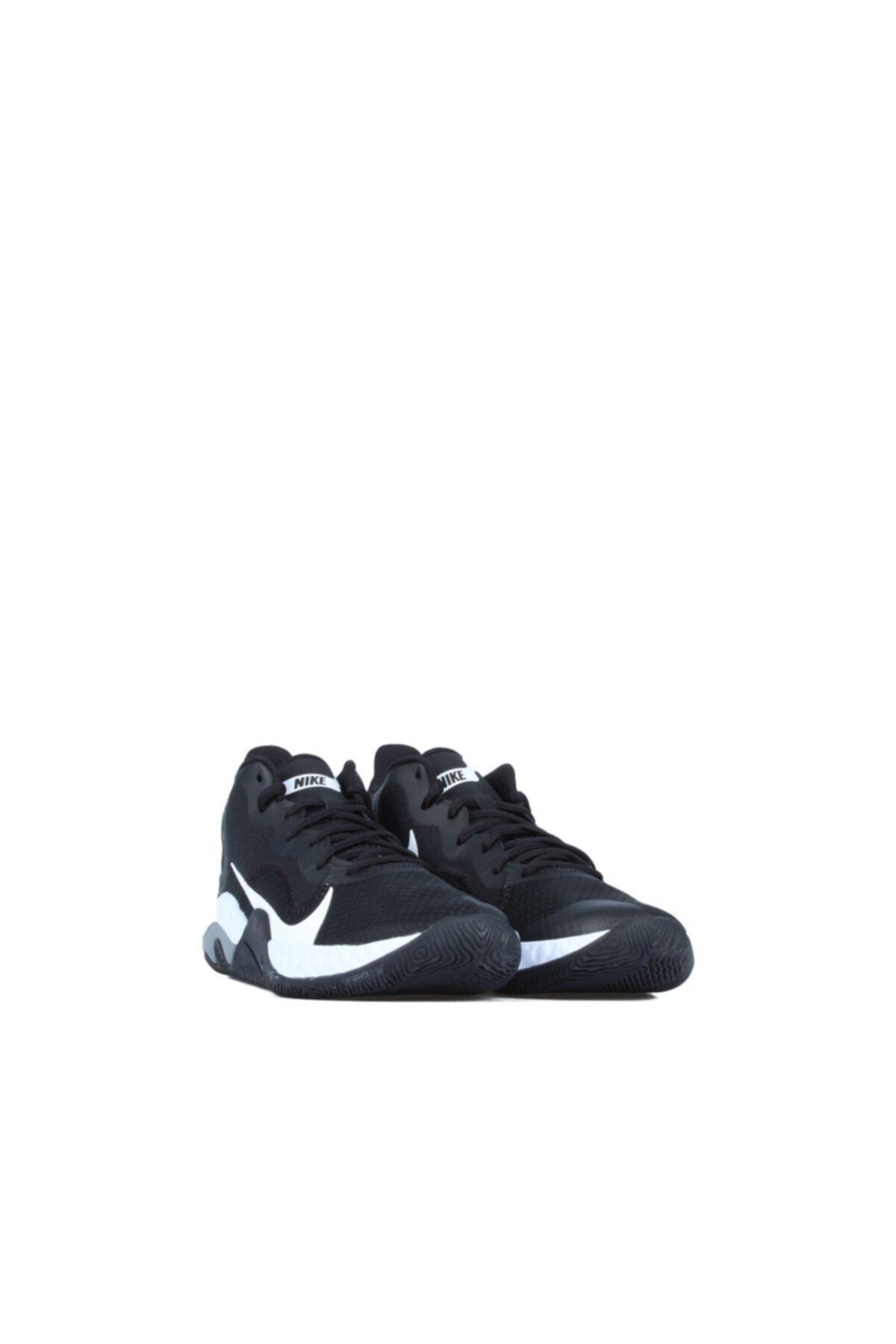 Erkek Siyah Renew Elevate Basketbol Ayakkabısı