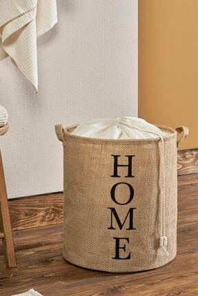 Ocean Home Jüt Çamaşır Sepeti //36x40 0