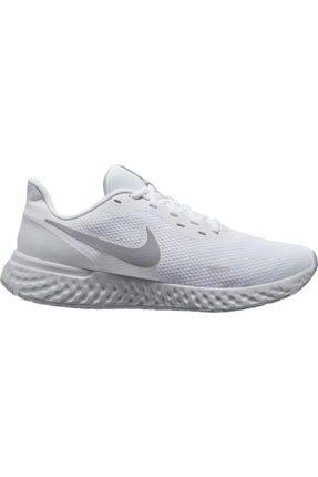 Nike Kadın Beyaz Revolution 5 Spor Ayakkabı Bq3207-100 0