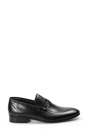 Fast Step Hakiki Deri Siyah Erkek Klasik Ayakkabı 867ma94 1