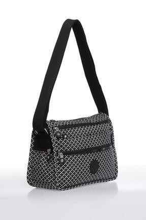 Smart Bags Smb1128-0127 Siyah/beyaz Kadın Çapraz Çanta 1