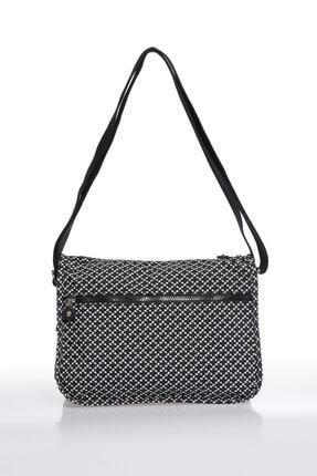 Smart Bags Smb1128-0127 Siyah/beyaz Kadın Çapraz Çanta 2
