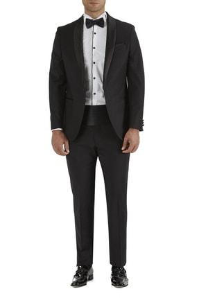 تصویر از 032 Slim Fit Siyah Black Takım Elbise