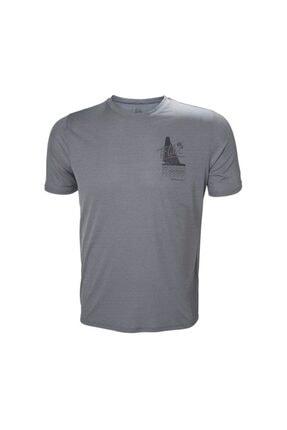 Helly Hansen Hp Circumnavigation Erkek T-shirt Gri 1