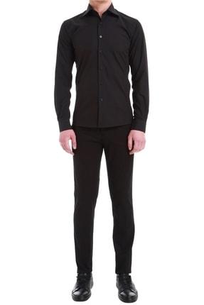 Efor P 1058 Slim Fit Siyah Spor Pantolon 0
